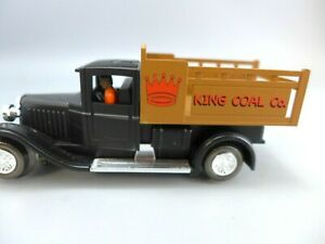 K-Line O Gauge SuperStreets Motorized King Coal Stake Truck Slot Car