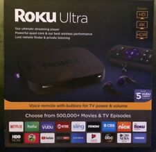 ROKU ULTRA (LATEST 2018 EDITION) HD MEDIA STREAMER 4661R - BLACK - NEW IN BOX