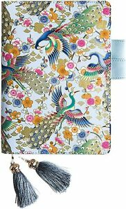 """Peahen Journal Notebook, Small Hardcover Diary – 6.6"""" X 4.8"""", Refillable"""