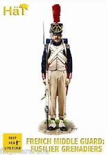 HAT 8167 FRENCH MIDDLE GUARD. NAPOLEONIC WARS. 1/72 SCALE PLASTIC FIGURES
