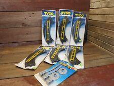 "Vintage Nos 1980's Tyco Ho Scale Quik Clik Slot Car 9"" Curve Track #6705 & Other"