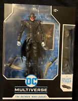 "Todd McFarlane Toys - DC Multiverse - Batman Who Laughs - 7"" Inch Batmobile Wave"