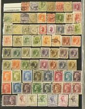 Luxembourg Lot of 180 Stamps Cancelled #6962