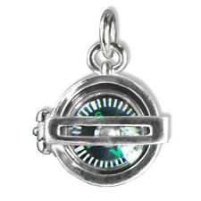 Compass Charm Sterling Silver .925 Operational Working