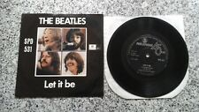 The Beatles Let It Be / You Know My Name 7'45 Single 1970 South Africa