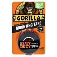 Gorilla Double Sided Mounting Tape Removable Multi Surface Adhesive Foam Strips