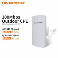 Outdoor 2.4G/5.8G 300M Wireless AP WIFI Repeater Access Point Extender Bridge