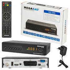 Megasat HD 390 12 volt Sat Receiver HDTV full HD DVB-S2 USB 1080p Unicabel 1 & 2