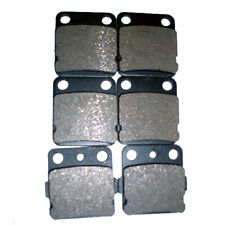 New listing F+R Semi-metallic Brake Pads For Yamaha Raptor 350 Yfm350 & Raptor 125 Yfm125R