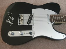 BLUES/BUDDY GUY SIGNED FENDER TELECASTER GUITAR PROOF!