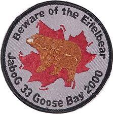 Aufnäher Patch Luftwaffe JaBoG 33 Goose Bay 2000 ...............A2172