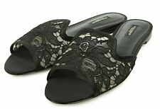 Dolce Gabbana Mules Slip on Shoes Sandals Shoes Flats Mules