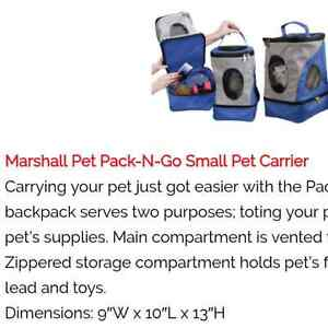 Pet Pack & Go Small Animal Carrier NWOT
