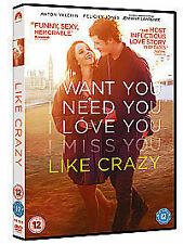 Like Crazy [DVD], DVD | 5014437162335 | New