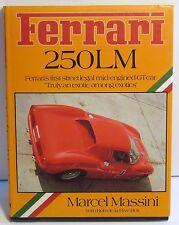 FERRARI 250 LM by MARCEL MASSINI / Rob de LA RIVE BOX BOOK