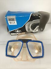 BEUCHAT GOGGLES Scuba Diving Snorkeling Tempered Glass VOYAGER Face MASK