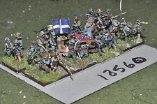 15mm ACW / confederate - american civil war infantry 32 figures - inf (18560)