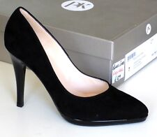 Peter Kaiser Womens Herdi Closed Toe High Heels, Black Suede Leather UK Size 7