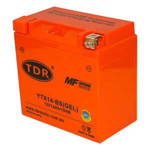 YTX14-BS Motorcycle Battery for Husqvarna 400cc TE410E 2000 - 2001