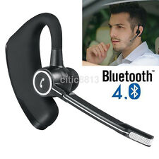 Bluetooth 4.0 Wireless HandsFree Car Kit Headset Music Headphone Voice Earpiece