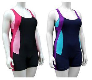 ACCLAIM Faro Ladies Boy Leg Modesty Swimming Costume Lined Front Womens Swimsuit