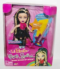 Lil Bratz UNOPENED Rock Starz NAZALIA DOLL SET Rock Band Guitar