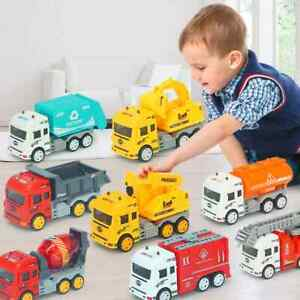 Construction Vehicle Cars Toy Trucks Educational Gift Truck Set Toys For 3+Kids
