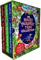 Magic Faraway Tree Deluxe Enid Blyton 3 Books Collection Box Set Pack [HB] NEW