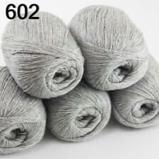 Sale New 5 Skeins Mongolian Pure Cashmere Wrap Shawls Hand Knitting Wool Yarn 02