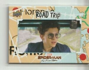2020 Spider-Man Far From Home Road Trip Trading Card #RT-5 Insert