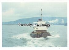 cd0256 - Alexander Towing Tug - Caedmon Cross renamed Margam - postcard