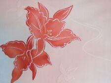 Kimono Flowers & Plants 100% Silk Craft Fabrics