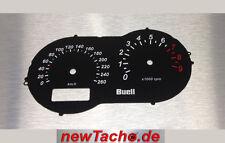 Buell xb12s compteur de vitesse vitre Black Gauge XB xb9s Compteur De Vitesse Dial plates Cadran Dial