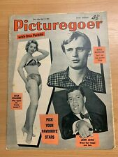 12 APR 1958 PICTUREGOER UK MOVIE MAGAZINE - DAVID McCALLUM / JERRY LEWIS
