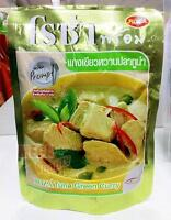 ROZA Prompt Tuna Green Curry Thai Food Ready Easy Meal Instant Food 105g