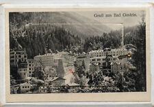 Ak Bad Gastein mit Leporello  Hotel Straubinger