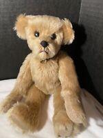 """Jointed Mohair OOAK Artist teddy bear 12"""""""