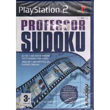 Professor Sudoku Videogioco Playstation 2 PS2 Sigillato 5017783023459