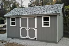 Storage Shed 10x16 Cottage Style