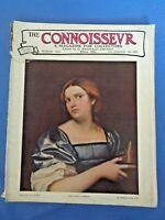 1931 THE CONNOISSEUR Magazine Royal Institute Centenary Coity Almery Henry Alken