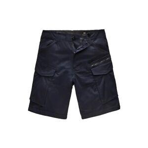 G-Star Rovic Zip Relaxed Combat Shorts, Navy