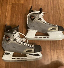Ccm Vector 3.0 Mens Size 12D Ice Hockey Skates Silver & Black 13.5 Shoe