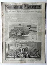 SCIENTIFIC AMERICAN Jan30,1886 NY CABLE CAR RAILWAY STEAM MACHINERY ILLUMINATION