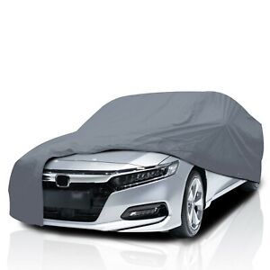 4 Layer Waterproof Car Cover for Acura Legend 1991-1996 UV Protection Durable