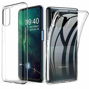 Cover per Samsung Galaxy A02S/12/22/32-4/5G/42/52-4/5G/72 trasparente in tpu