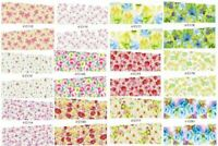 19 sets Nail art water transfer decal sticker wrap C series Rainbow C12