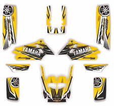 YAMAHA BANSHEE 350 FULLBORE PLASTICS CREATORX GRAPHICS KIT LITTLE SINS BLACK
