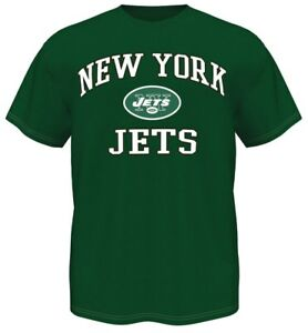 New York Jets Majestic NFL Heart & Soul III Men's Green T-Shirt