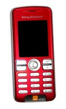 Sony Ericsson K510i Seductive Red Unlocked Triband Gsm Camera,Bluetooth Phone