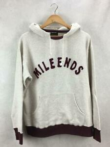 Glad Hand Millends PulloverPosterior Foody Wine Red White Cotton Parka